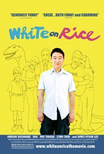 White on Rice Poster