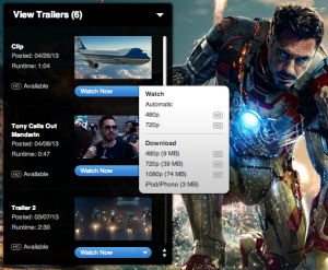 Iron Man 3 - Download Links